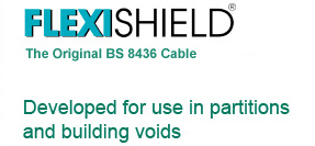 Developed for use in partitions and building voids